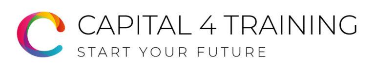 capital 4 training, logo design